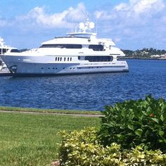 North Palm Beach: Tiger's 'Privacy' parked in front of Condo.