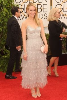 On the Red Carpet at the Golden Globes -