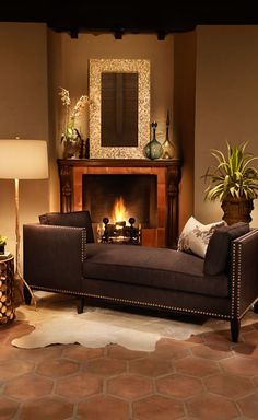 How desperately I need daybed in front of the fireplace.....oh, and also a fireplace for said daybed..