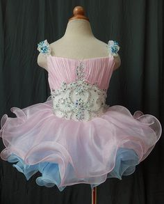 Infant/toddler/baby/children/kids Girl's Pageant evening/prom/ball Dress/clothing/gown for birthday,wedding,bridal,gift,party, 3~4T G004