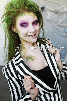 70 mind blowing diy halloween costumes for women halloween beetle juice makeup tutorial madeyewlook omg a womens costume that is not sexed up solutioingenieria Choice Image