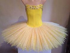 Sunshine yellow stretch tutu by Tutus by Dani Australia