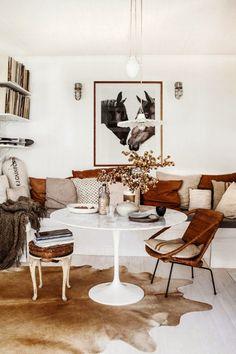 La casa de la interiorista Kara Rosenlund, un hogar neorústico con toques vaqueros y Shabby Chic
