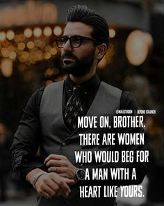 Image may contain: 1 person, beard, eyeglasses and text Let Her Go Quotes, Man Up Quotes, True Love Quotes, Badass Quotes, Men Quotes, Strong Quotes, Daily Quotes, Wisdom Quotes, Words Quotes