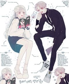 #LiênVĩ Manga Anime, Anime Couples Manga, Cute Anime Couples, Anime Guys, Pretty Anime Girl, Anime Art Girl, Manga Drawing, Manga Art, Cute Characters