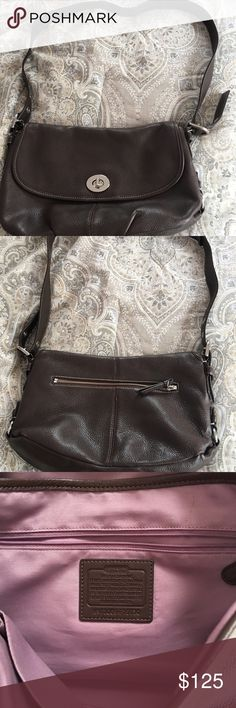 100% authentic coach cross body bag! 100% Coach cross body bag. Was purchased from Nordstrom 2 years ago. It's in great condition. Was only used once for traveling. Could be used for multiple purposes. Coach Bags Crossbody Bags