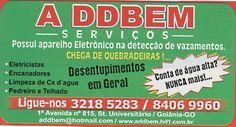 Eu recomendo A DDBEM- Setor Universitário, #Goiânia, #Goiás, #Brasil