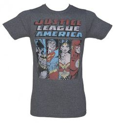 Men's Justice League of America T-Shirt from Jack of All Trades : Main
