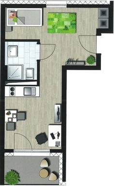 grundriss kapitalanlage einrichten und wohnen studentenwohnheim studentenwohnungen trautes heim architektur