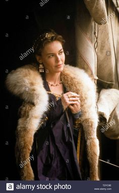 Download this stock image: CONNIE NIELSEN, GLADIATOR, 2000 - T2YC9E from Alamy's library of millions of high resolution stock photos, illustrations and vectors. Gladiator Cast, Gladiator 2000, Film Archive, It Movie Cast, Celebrity Look, Hd Movies, Role Models, Fur, Actresses
