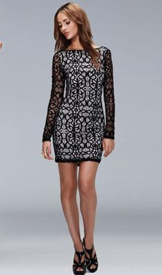 great cocktail dress for winter