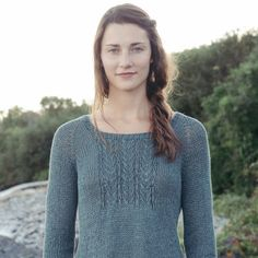 linen verdant knitting pattern collection - Quince and Co
