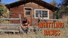 Whitting newbie Whittling Knife, Cabin, World, House Styles, Youtube, Cabins, Cottage, The World, Wooden Houses