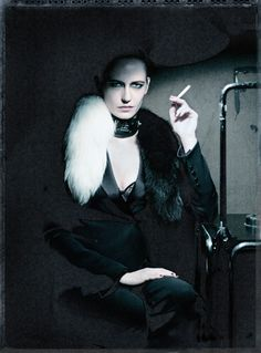 Eva Green by Paolo Roversi (Interview) Plus