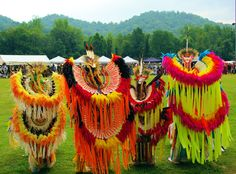Pow wow at Cherokee Indian Reservation in the NC mountains