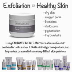 Rodan+Fields Microdermabrasion Paste is hands down my favorite product! It is a multi purpose product! Get yours today. Message me with questions!