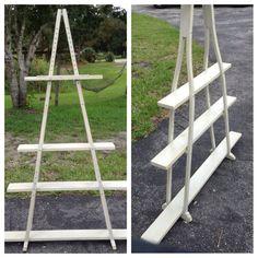 Shabby Crutch Shelves