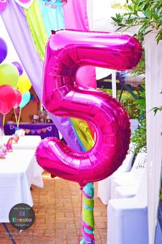 """5"" party balloon fr"