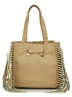 Betsey Johnson BJ49815 Shoulder Bag Spice One Size >>> Visit the image link more details.