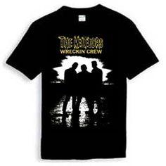 Meteors TShirt Wreckin' Crew Psychobilly, Mens Tops, T Shirt, Tee, Tee Shirt