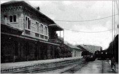 Estación del Niño Jesús. Fue cerrada y desmantelada en 1964ya desde los años 50 la línea no transportaba pasajeros sólo mercancías
