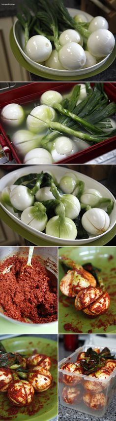 Onion Kimchi