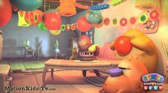 Preparando una fiesta de cumpleaños muy especial! - Imagenes de los Glumpers - Glumpers cartoon pictures