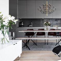 Hemnet-godis på bloggen 34kvadrat.se (länk i profilen) #34kvadrat #hemnet #kök #kitcheninspo #köksinspiration #nyproduktion förmedlas via @husmanhagberg