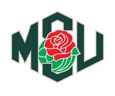 """Shield"" MSU and Rose Bowl logo (Michigan State University Spartans)"