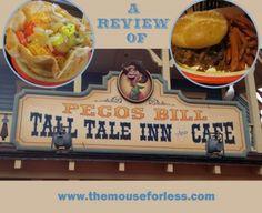 A review of Pecos Bill's at Disney's Magic Kingdom in Walt Disney World