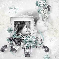 "Kit "" An icy wind "" by Célinoas Designs Photos by Sandra https://www.myscrapartdigital.com/shop/c%C3%A9linoas-designs-c-24_52/"