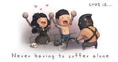 Love Is: Husband Spends 5+ Years Illustrating His Love For His Wife | Bored Panda