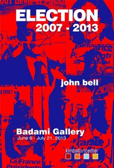 Park City Gallery Stroll Friday - Bell's Election at Kimball Art Center