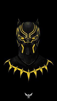 Black Panther Pics, Black Panther Hd Wallpaper, Black Panther Marvel, Dark Panther, Marvel Art, Marvel Heroes, Marvel Comics, Iron Man Art, Iron Man Avengers