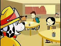 Sparky Says: Join My Fire Safety Club Video - 4 min. Kindergarten Social Studies, Kindergarten Fun, Autumn Activities, Preschool Activities, Fire Safety Week, Fire Prevention Week, Community Helpers Preschool, Rhymes For Kids, School Videos