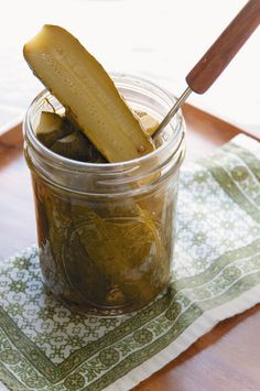 Use Ashley English's fabulous recipe to make your own quick pickles. #Etsy
