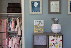 Project Nursery - Closet Wall 2