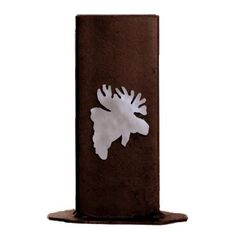 Moose Fireplace Match Holder