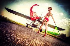 Sky Camp Dropzone, Poland  model: Marta Molińska fot. KonwentPhotography