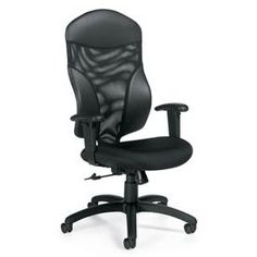Global Total Office Tye High-Back Mesh Desk Chair
