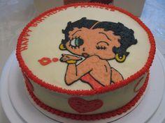 betty boop birthday cakes | Betty Boop Birthday Cake » Betty Boop Birthday Cake – Top View