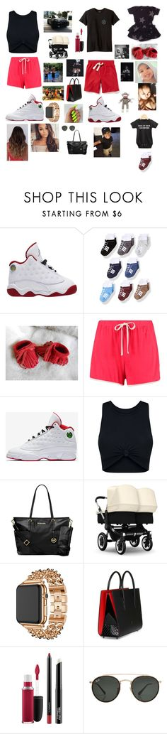 """""""Untitled #508"""" by brie-karitsa-luciano on Polyvore featuring Old Navy, Billabong, Boohoo, NIKE, Porsche, Michael Kors, Apple, Christian Louboutin, MAC Cosmetics and Ray-Ban"""