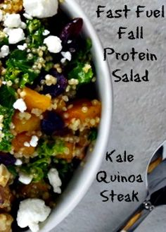 Kale, quinoa, and steak will make this quick dish a seasonal crowd pleaser.