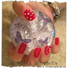 Gelish on natural nails