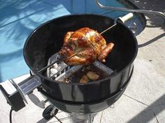 Weber Rotisserie and rotesserie chicken recipe https://store.weber.com/accessories/category/cook/cookware/1100