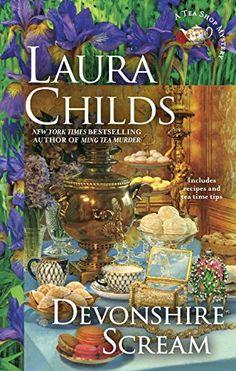 Devonshire Scream (A Tea Shop Mystery) by Laura Childs http://www.amazon.com/dp/0425281663/ref=cm_sw_r_pi_dp_sKkXvb1Z4ZS9H