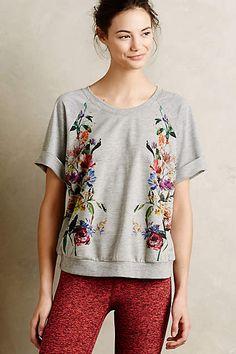 Botanica Strick-T-Shirt - anthropologie.eu