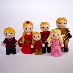 The Lannisters   From Luna2003 on Photobucket. A very talented knitter/crocherer.