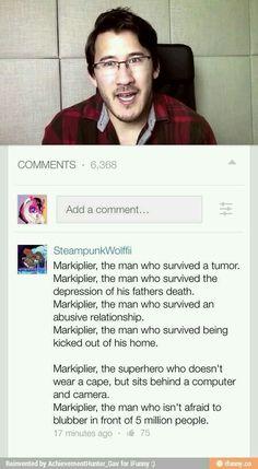 Mark is my hero
