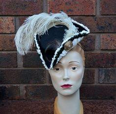 """Countess Charlotte"" Tricorne from Tanith Rowan Designs"
